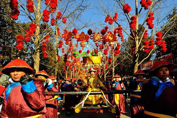 Традиции и обычаи китайского нового года